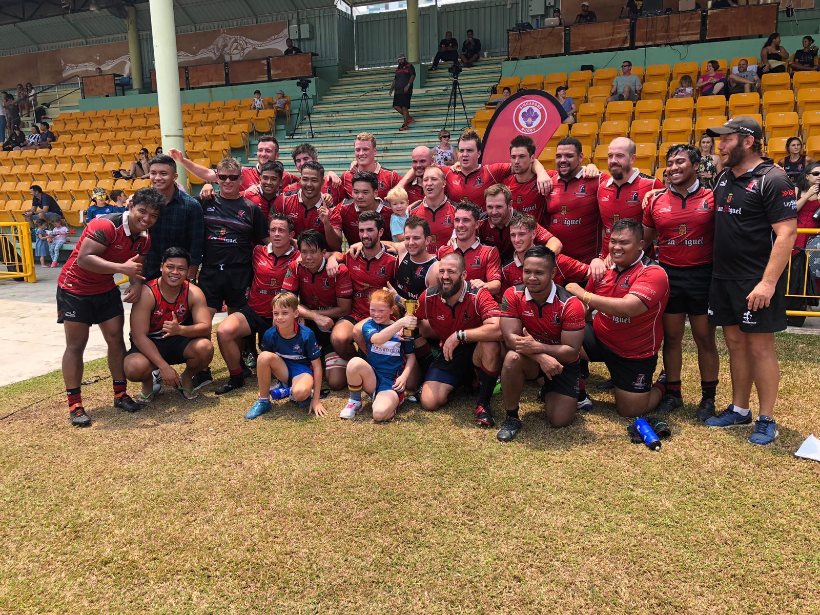 Gents win Plate Final